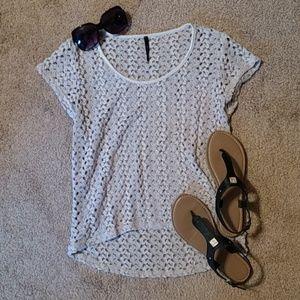 B Jewel Tops - ♥️ 5/$35 Knit Lace Top